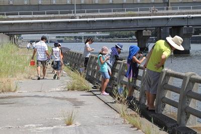 8月25日 ハゼ釣り大会開催