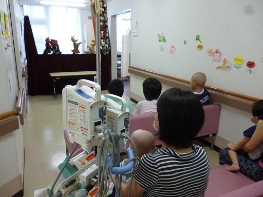 「ニッキ」の皆さんが成田赤十字病院での公演のために来てくださいました。