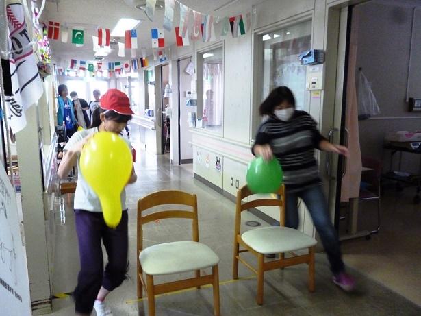 10月14日 千葉県こども病院4東病棟秋の大運動会