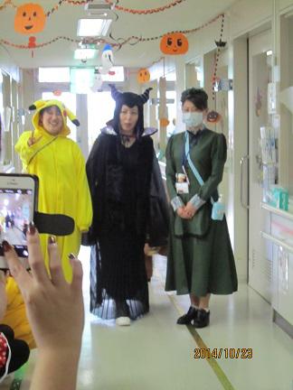 千葉県こども病院ハロウィーンのお祭り