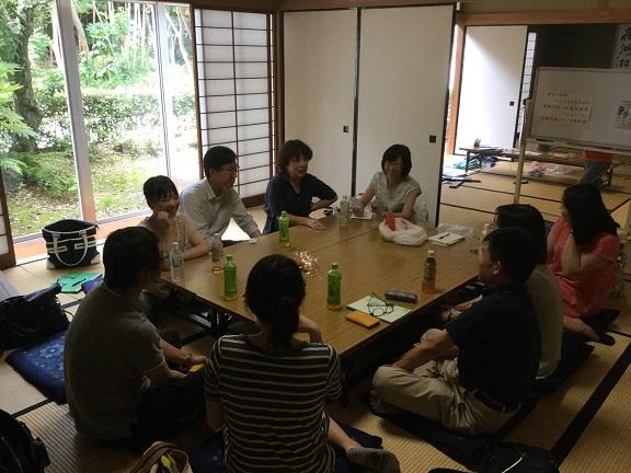 7月2日 院外茶話会