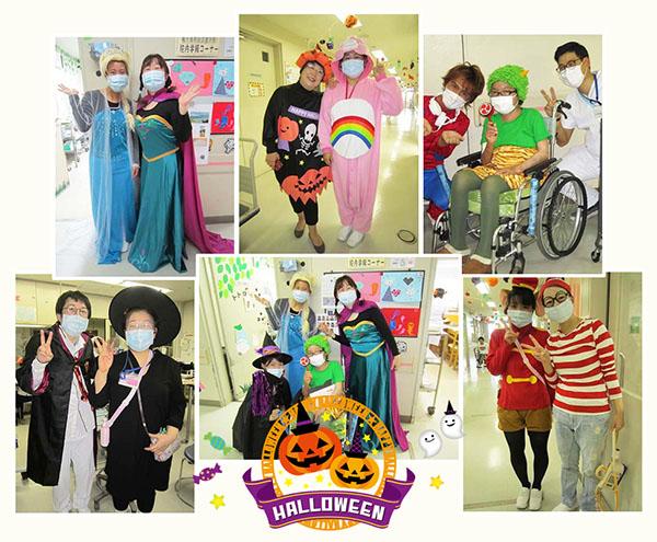 11月8日 千葉県子ども病院 ハロウィン