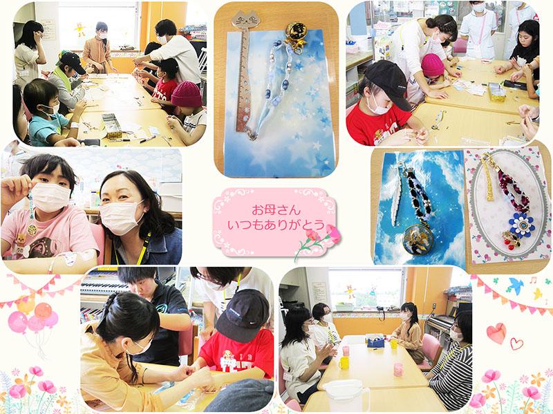 5月9日 千葉県子ども病院 母の日