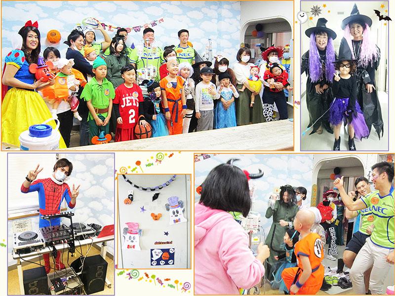 10月31日 千葉県こども病院 ハロウィーンパーティー