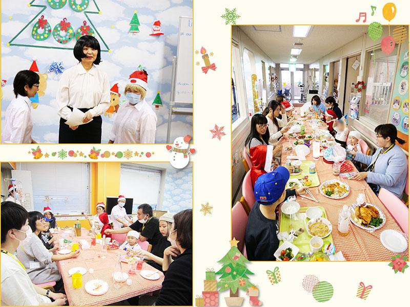 12月22日 千葉県こども病院クリスマス会