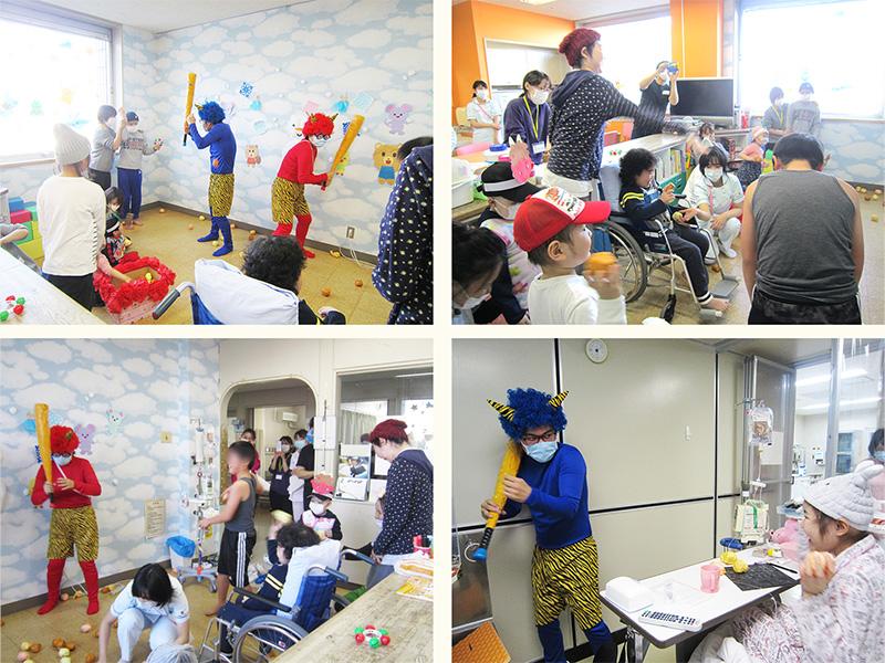 2月5日 千葉県こども病院 豆まき