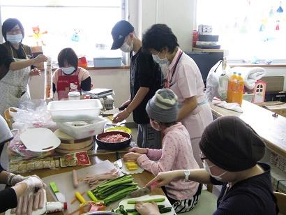 3月3日 千葉県こども病院で、ひな祭り