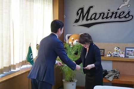 2015年3月12日 千葉市よりNPO大賞を受賞しました。