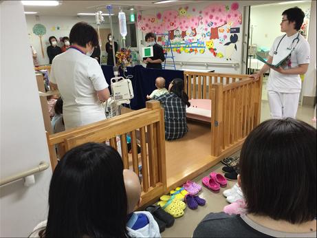4月17日 千葉大学医学部付属病院小児科