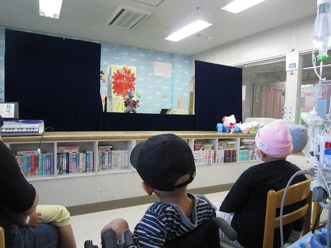 3月3日 ニッキさんの人形劇訪問がありました