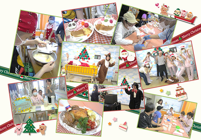 12月23日 千葉県こども病院 クリスマス会