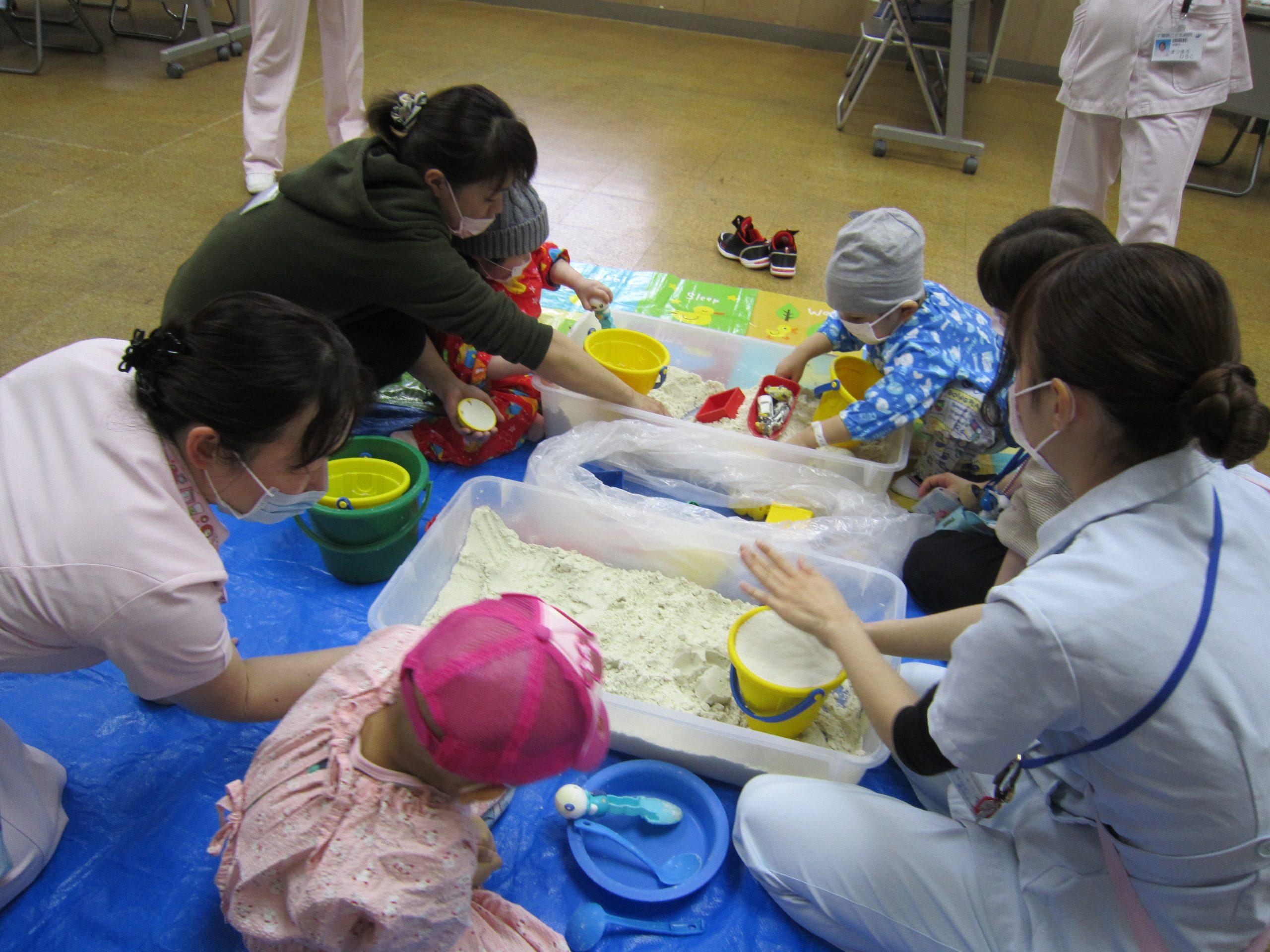 千葉県こども病院 ひなまつり
