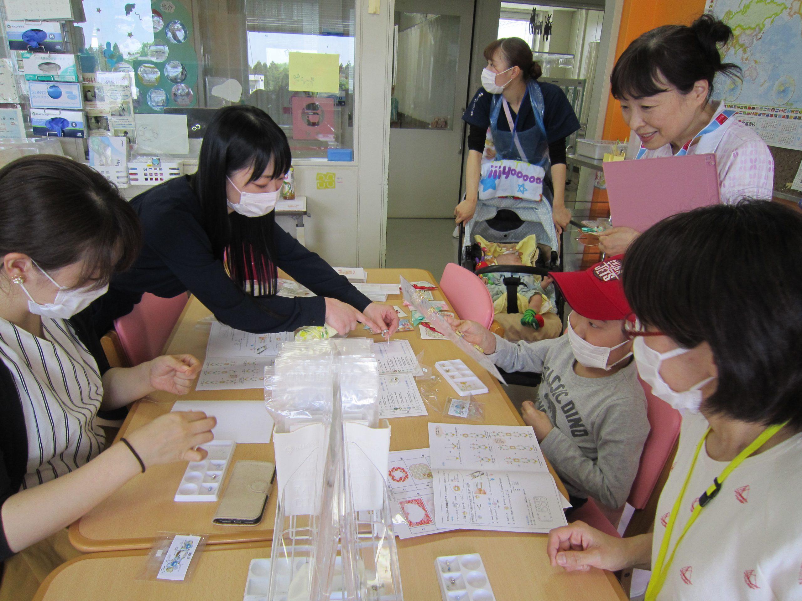 5月9日 千葉県こども病院 母の日