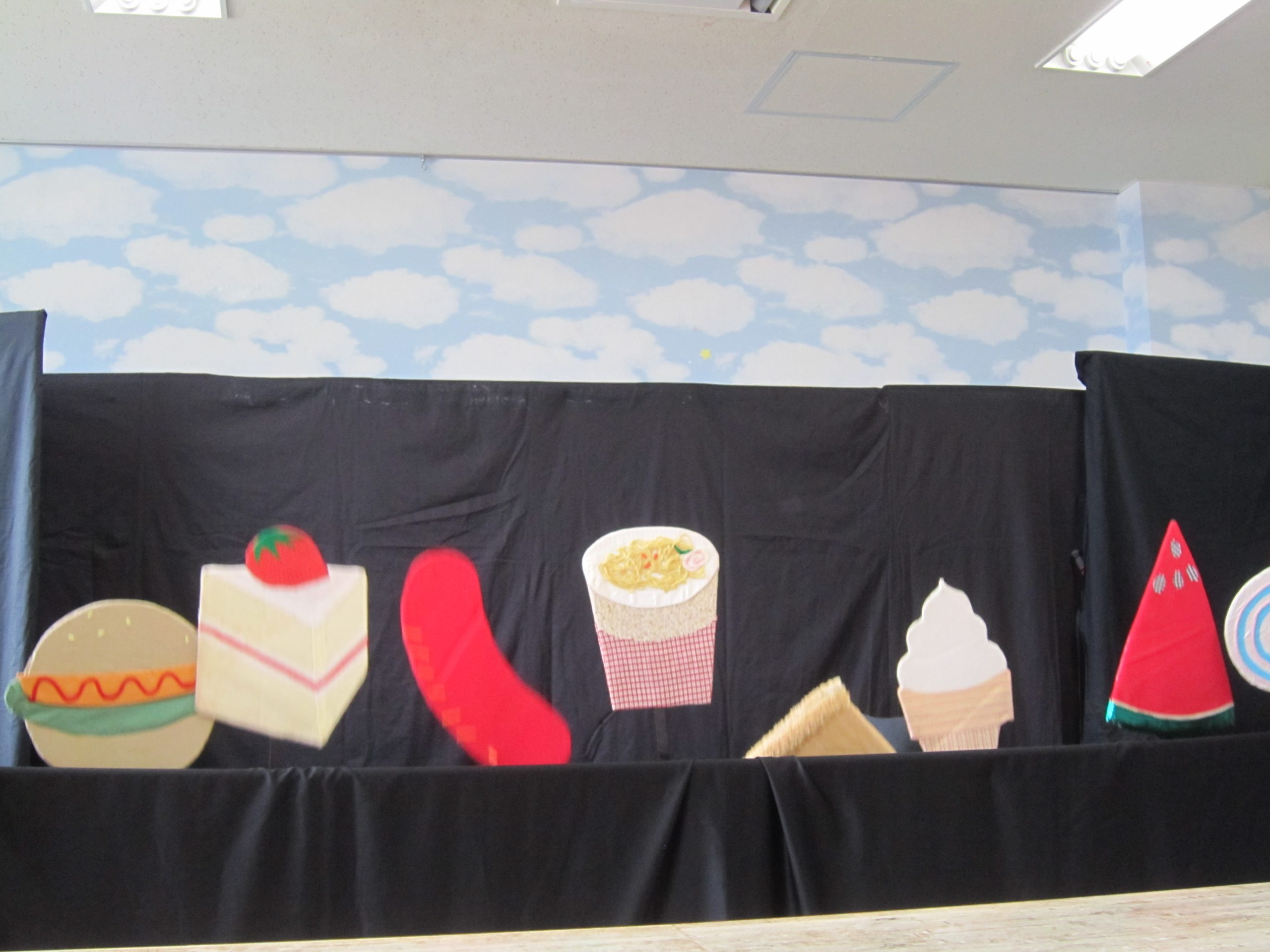 7月17日 千葉県こども病院 人形劇