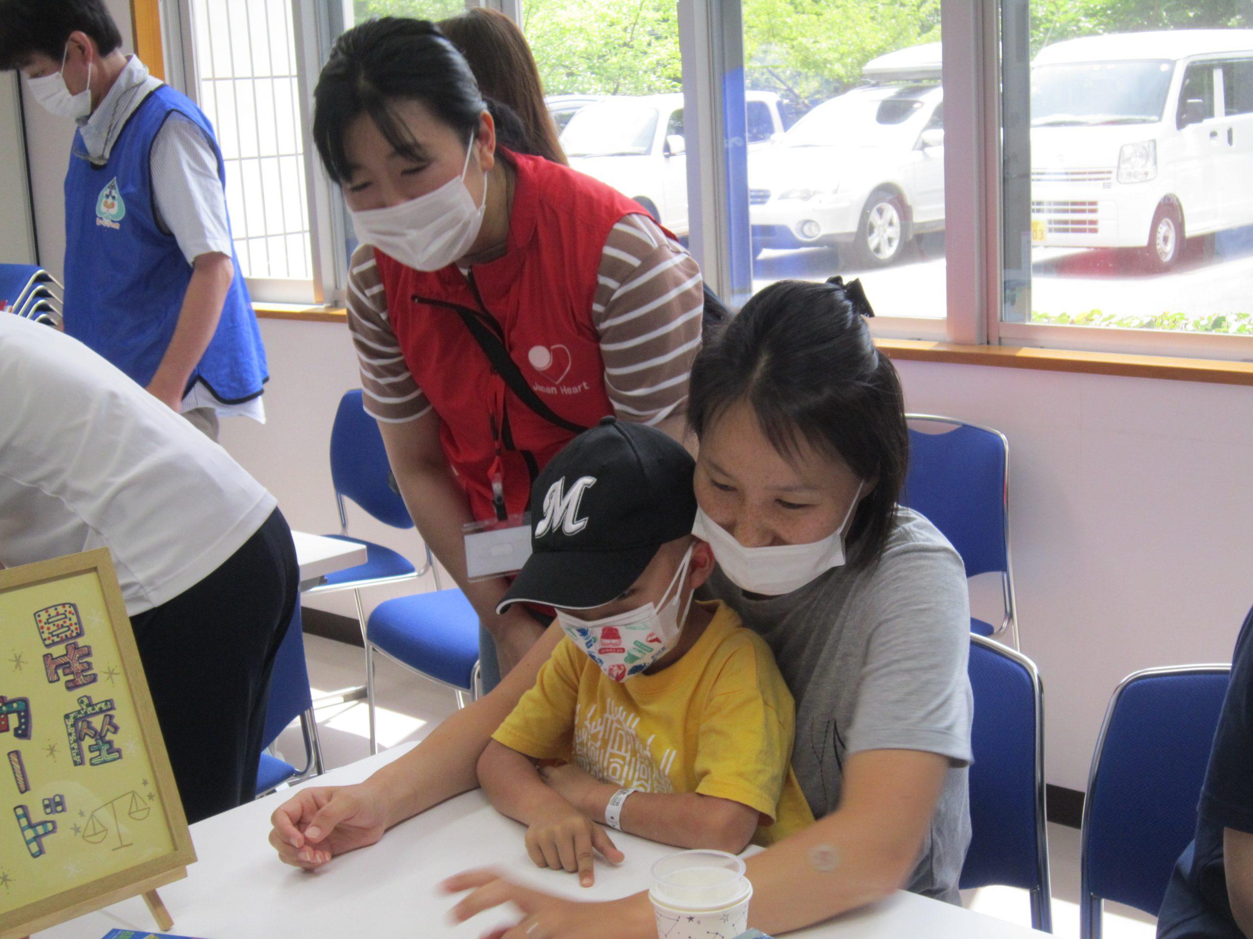 7月31日 千葉県こども病院 プラネタリウム