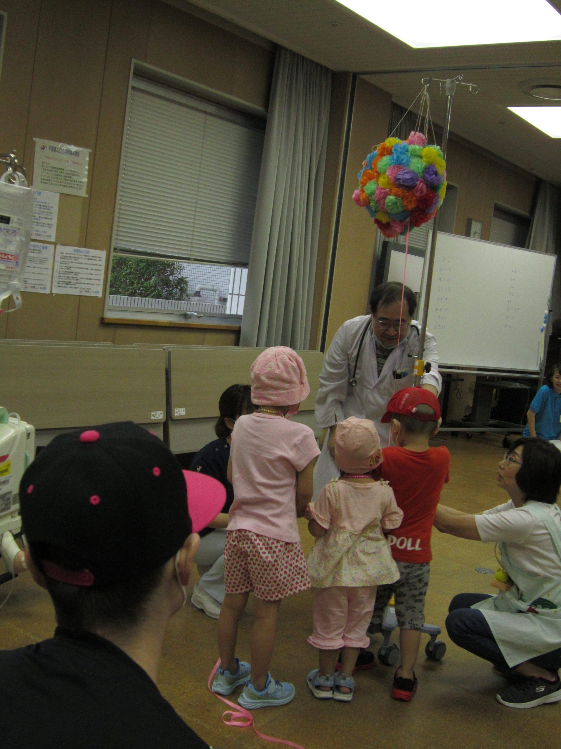 9月18日 千葉県こども病院 第150回記念のアニマルセラピー